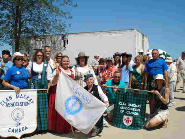 Group photo after the parade